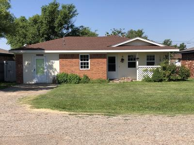 Carson County Single Family Home For Sale: 503 Hazel