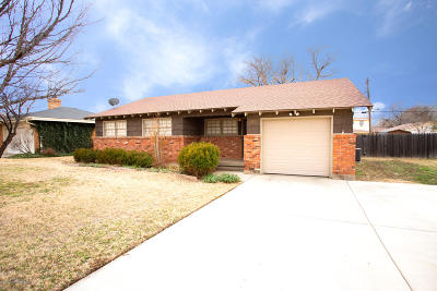 Amarillo Single Family Home For Sale: 3410 Paramount Blvd