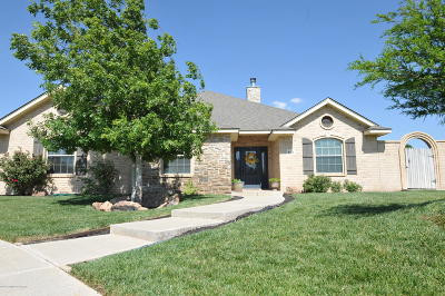 Randall County Single Family Home For Sale: 8615 Endicott Dr