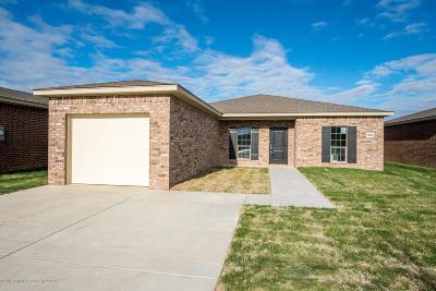 Amarillo Single Family Home For Sale: 4904 Hawken St