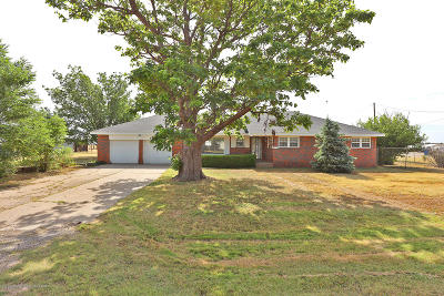 Amarillo Single Family Home For Sale: 12395 Chapman Dr