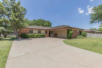 Amarillo Single Family Home For Sale: 3706 Clearwell St