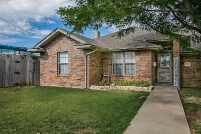 Amarillo Condo/Townhouse For Sale: 3520 Crockett St