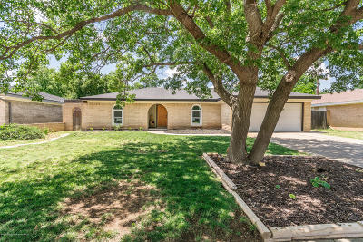 Potter County, Randall County Single Family Home For Sale: 3318 Bush Dr