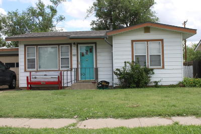 Carson County Single Family Home For Sale: 1010 Franklin Ave