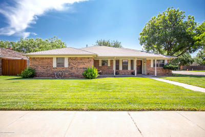 Amarillo Single Family Home For Sale: 5109 Theda Dr