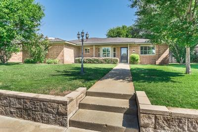 Amarillo Single Family Home For Sale: 6504 Wentworth Dr