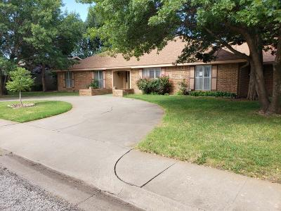 Amarillo Single Family Home For Sale: 3502 Edgewood Dr