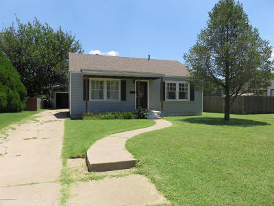 Amarillo Single Family Home For Sale: 1335 Broadmoor St