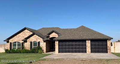 Amarillo Single Family Home For Sale: 8001 Cpt Woodrow Call Trl