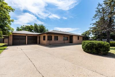 Amarillo Single Family Home For Sale: 1801 Western St