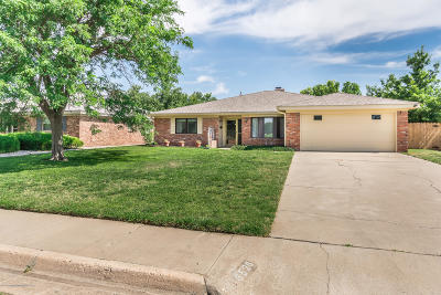 Amarillo Single Family Home For Sale: 6520 Fulton Dr