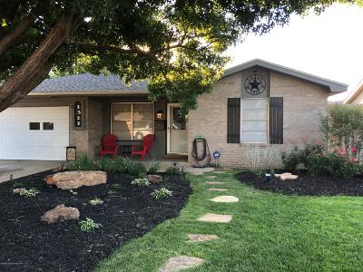 Amarillo Single Family Home For Sale: 1311 Parr St