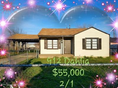 Amarillo Multi Family Home For Sale: 912 Dahlia St