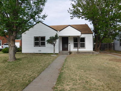 Potter County Single Family Home For Sale: 924 Fannin St