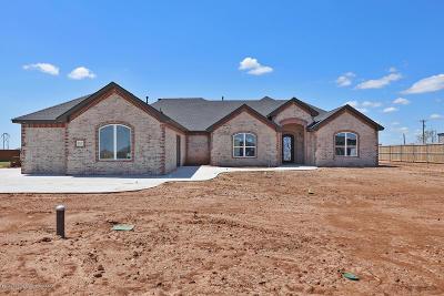 Amarillo Single Family Home For Sale: 8110 Blue Duck Trail Trl