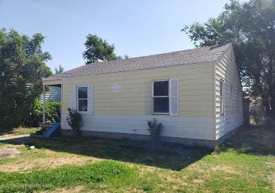 Potter County Single Family Home For Sale: 1614 Marrs St