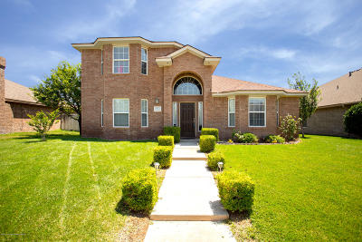 Amarillo Single Family Home For Sale: 8113 Barstow Dr