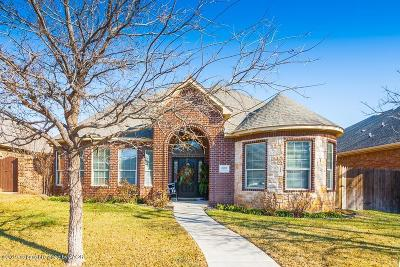 Amarillo Single Family Home For Sale: 4709 Ashville Pl
