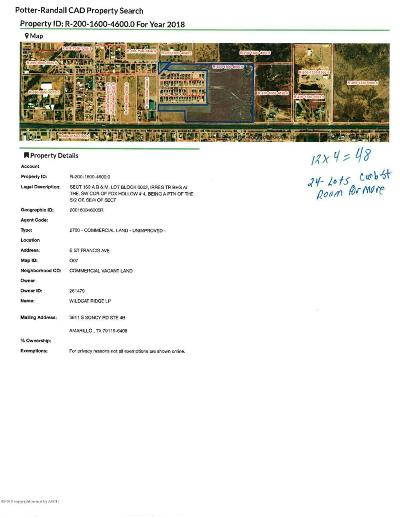 Residential Lots & Land For Sale: St Francis Ave