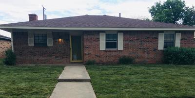 Amarillo Single Family Home For Sale: 5209 Fannin St