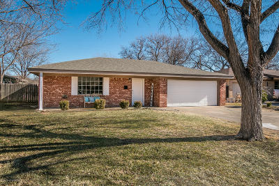 Amarillo Single Family Home For Sale: 3621 Sunlite St