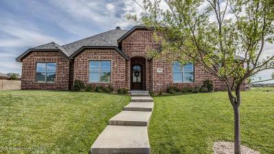Amarillo Single Family Home For Sale: 6603 Lauren Ashleigh Dr