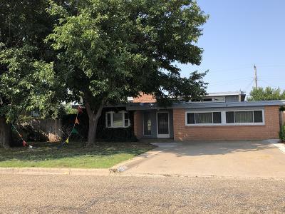 Borger Single Family Home For Sale: 314 Santa Fe St