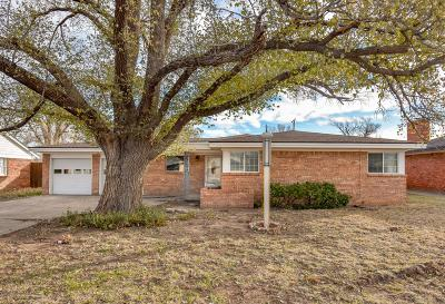 Amarillo Single Family Home For Sale: 3409 Paramount Blvd