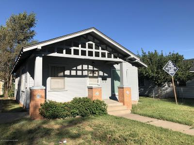 Single Family Home For Sale: 816 Carolina St