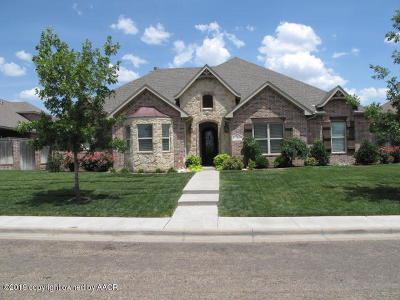 Randall County Single Family Home For Sale: 7906 Clearmeadow Dr