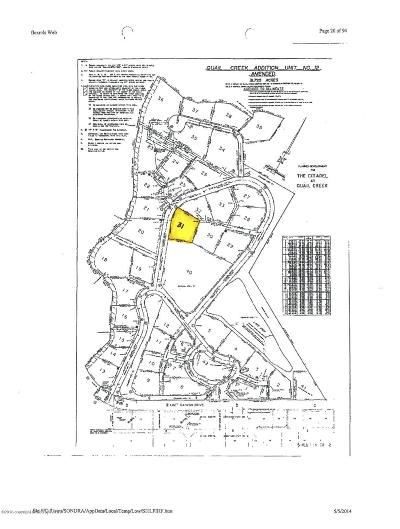 Amarillo Residential Lots & Land For Sale: 31 Citadel Dr