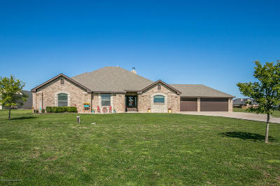 Amarillo Single Family Home For Sale: 7820 Cpt Woodrow Call Trl