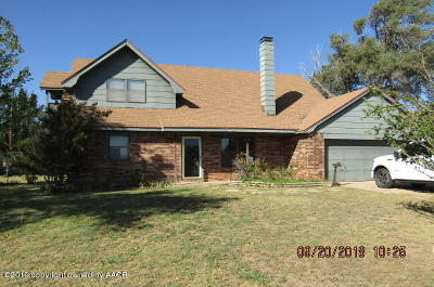 Carson County Single Family Home For Sale: 508 Main