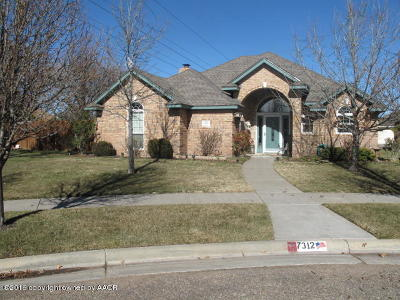 Amarillo Single Family Home For Sale: 7312 Kings Pl