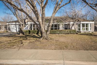 Amarillo Single Family Home For Sale: 3909 Doris Dr