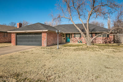 Amarillo Single Family Home For Sale: 5304 Alvarado Rd