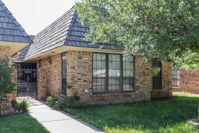 Amarillo Condo/Townhouse For Sale: 5933 Devon Dr