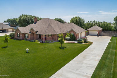 Amarillo Single Family Home For Sale: 19351 Winding River Rd