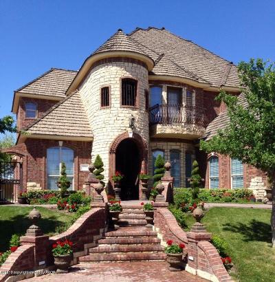 Borger Single Family Home For Sale: 108 Brandon Dr