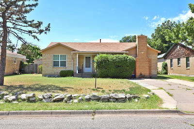 Amarillo Single Family Home For Sale: 1560 Smiley St