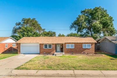 Amarillo Single Family Home For Sale: 3106 Mockingbird Ln