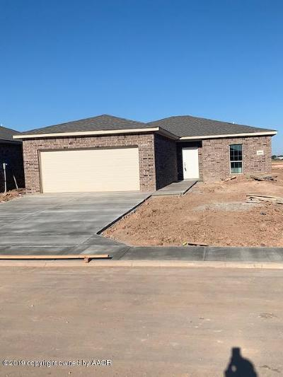 Amarillo Single Family Home For Sale: 5000 Eberly
