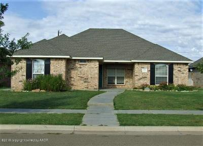 Amarillo Single Family Home For Sale: 4012 Wilson St