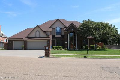 Borger Single Family Home For Sale: 207 Loma Linda Ln