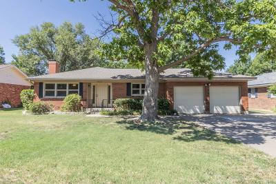 Amarillo Single Family Home For Sale: 4020 Terrace Dr
