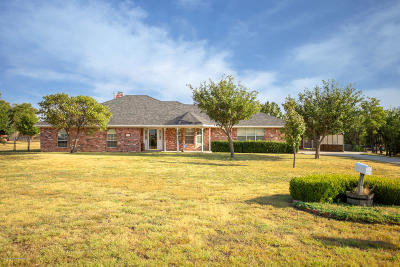 Amarillo Single Family Home For Sale: 10700 Trail View