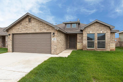 Amarillo Single Family Home For Sale: 4801 Eberly St