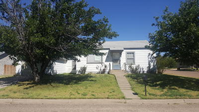 Borger Single Family Home For Sale: 112 Maple St