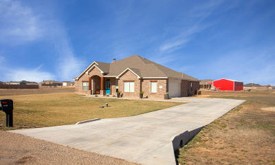 Amarillo Single Family Home For Sale: 17750 Stone Creek Rd